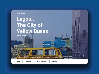 The Sweet City of Lagos. design process web minimal branding ux ui illustration design