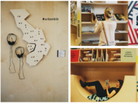 Urban Library multimedia installation
