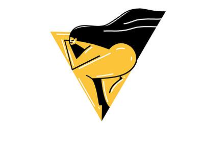 Punanimation - Logo vector illustration logo design