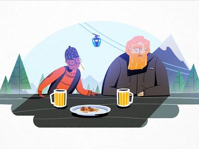 Travel Channel - traveller's etiquette animation art animation character art illustration design