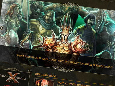 Might And Magic Legacy - Open Dev Blog