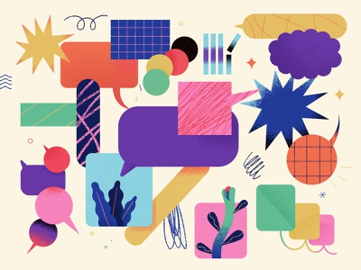 Diversity Illustration pieces careers backgrounds results talent contrast variety inspiration talk multicultural chat conversation diverse inclusion inclusive diversity digital products illustration design z1