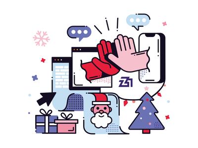 Christmas christmas illustration design