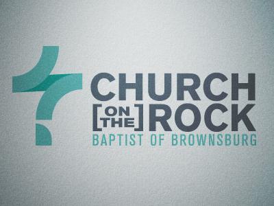 Church on the Rock church logo cross