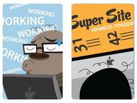 Rich Typography on Smashing Cartoons