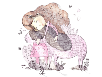 Illustration for a children's poem