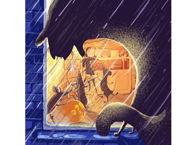 Illustration for children's poem
