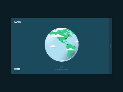 Kapaw design concept earth animation concept ecology dayliui swiss browse design