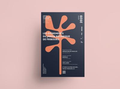 Jardin botanique Fribourg | identité visuelle