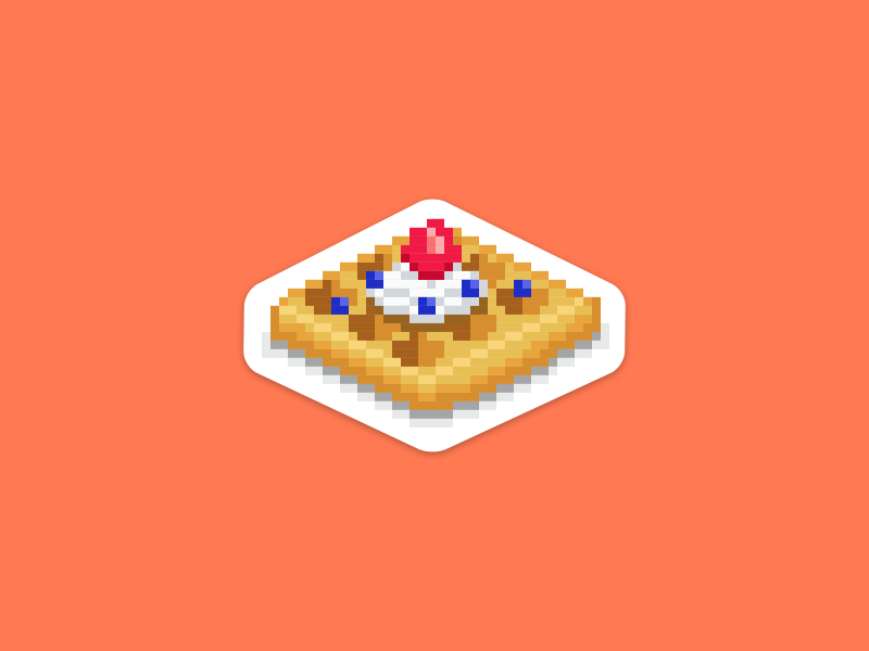 WaffleJS meetups meetup stickers waffles waffle