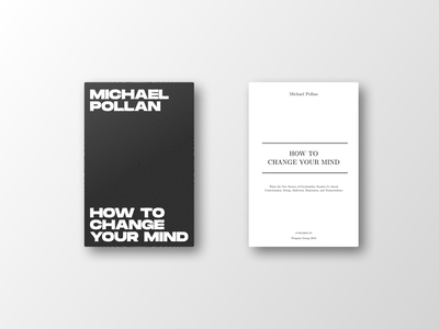 How To Change Your Mind graphic design michael pollan book cover book covers book books
