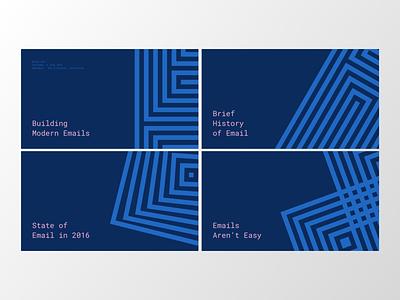 Internal Email Preso graphic design keynote presentation design presentation