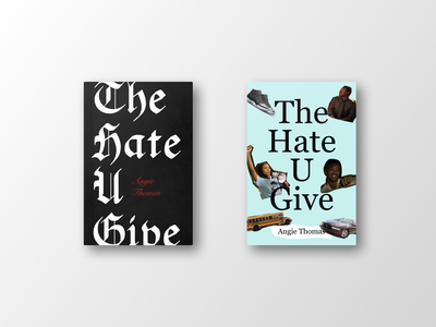 The Hate U Give books book book covers book cover graphic design
