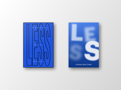 Less less graphic design book covers books book book cover