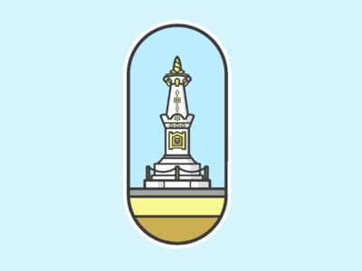 TUGU YOGYAKARTA iconic flat
