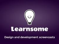 Learnsome logo (purple)