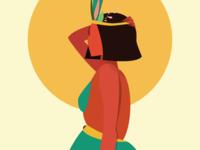 Cleopatra , detail