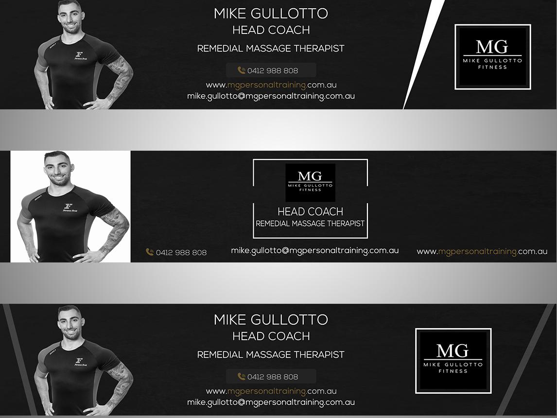 Banner web design branding