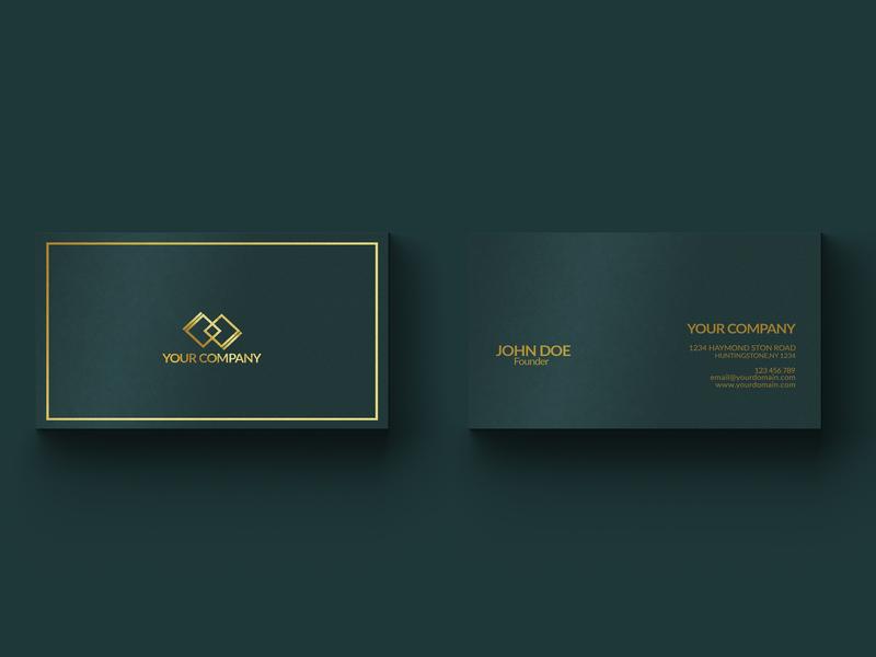 Business Card. busines card design print branding