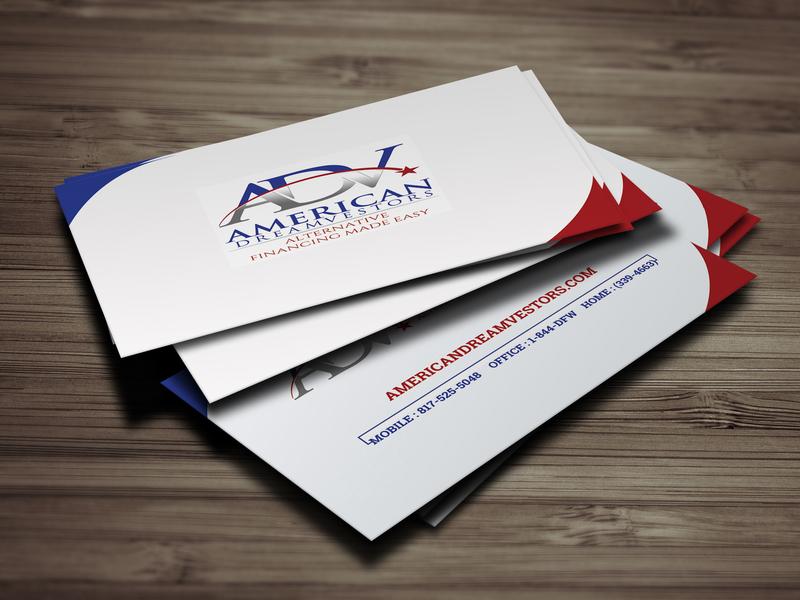 Real Estate   Mortgage Business Card Design