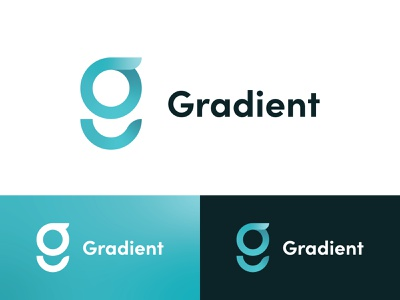 Gradient Brand Logo typography brand gradients gradient illustrator brand identity minimal logo illustration branding vector design