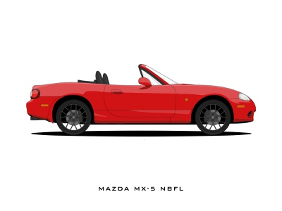 Mazda MX-5 Illustration design vector illustration
