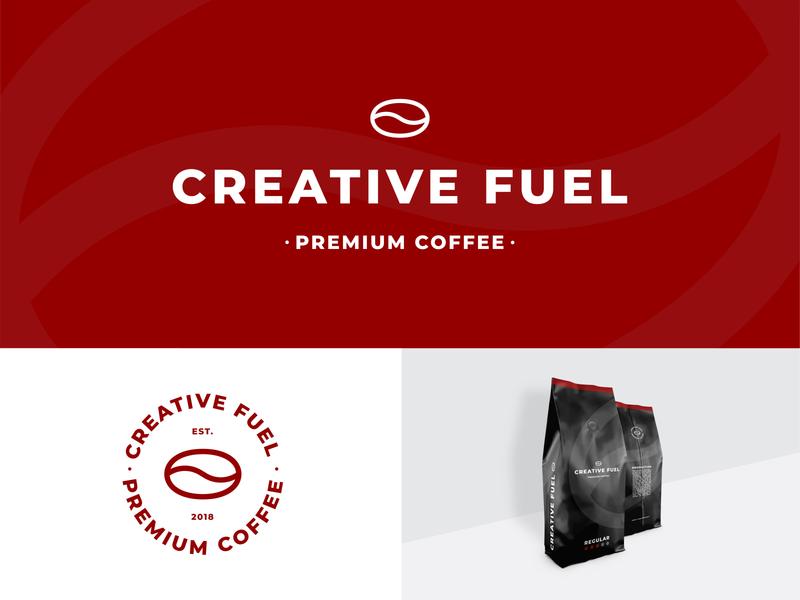 Creative Fuel - Branding / Packaging Design illustration typography coffee packaging design package minimal branding vector design