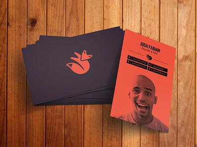 Kitsu Business Cards card business print