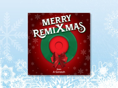 Merry RemiXmas CD design