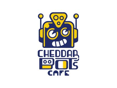 Latest Cheddar Bot's Logo vector character design cartoons logotype graphic design branding typography icon illustration logo design