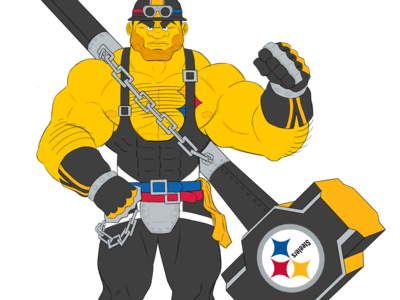 Steelers Fighting Game Character