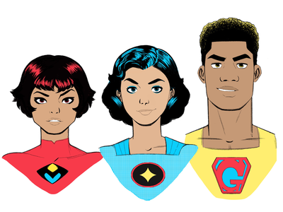 Super Team Portraits