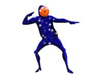 Dancing Pumpkin Man