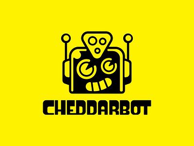Logo WIP wip design cheese cute logo marque typography logotype illustration robot branding graphic design logo design logo