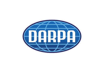 DARPA Logo science symbol insignia badge patch globe logotype agency graphic design icon government typography logo