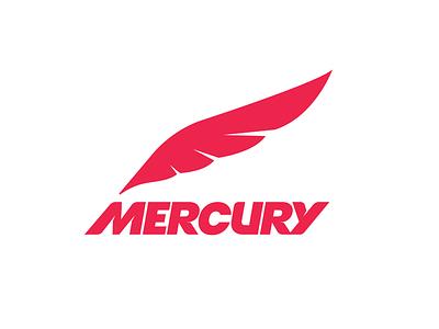 Athletic Apparel Logo speed fast mercury sports apparel athletic typography branding graphic design icon logo mark logotype logo design