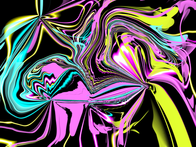 Abstract burst rays ethereal dimensions warp neon colors light design abstract illustration