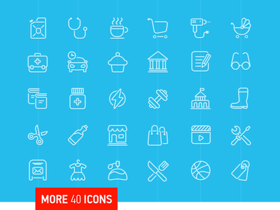 Vector Icons odessa ukraine icon glyphs ios icons ios7 icons shapes vector icon set
