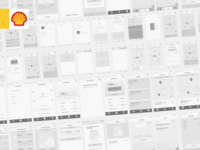 Shell wireframes