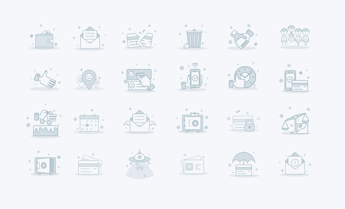 Skybank icons
