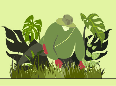 Monochrome Gardener