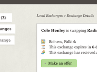 Cole Henley is swapping …