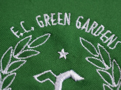 F.C. Green Gardens football badge badge football kit football visual  identity design print design visual design branding concept