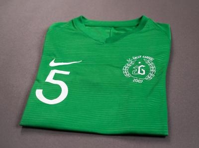 F.C. Green Gardens football badge badge football kit football team football visual identity logo design visual  identity print design concept branding visual design