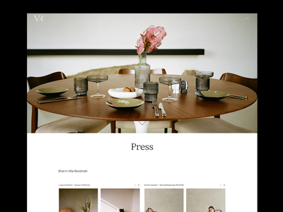 Villa Rondinelli italy florence villa photoshoot interior design fashion javascript css html coding ui ux web development concept design visual design