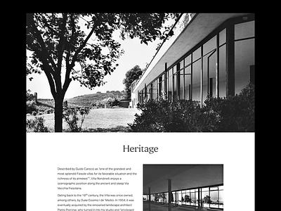 Villa Rondinelli florence italy photoshoot interior design fashion javascript css html coding digital design web development ui ux concept design visual design