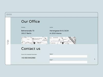 VIB Strategy website responsive javascript css html coding ux design ui design responsiveness responsive design web design digital design visual language concept design visual design