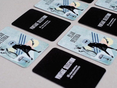 Clan.destina — business cards