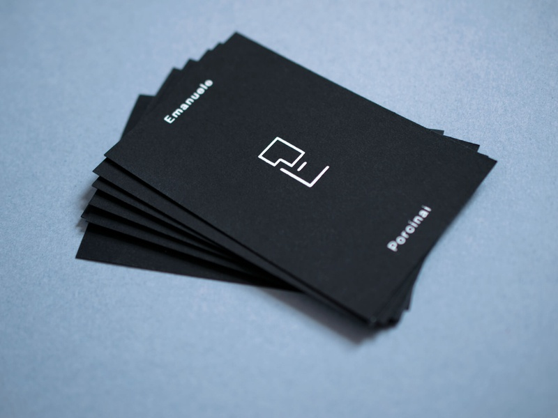 Emanuele Porcinai – Branding business card logo arts music identity design branding visual design concept visual  identity brand identity logo design visual language