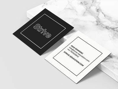 Strive – business card